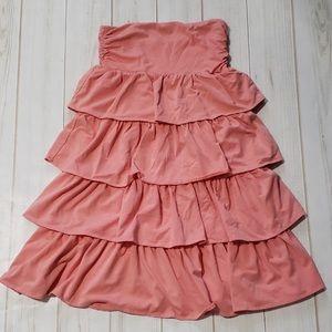 NWT Pink Ruffle Skirt